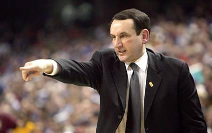 Coach Mike Krzyzewski (Coach K), Duke